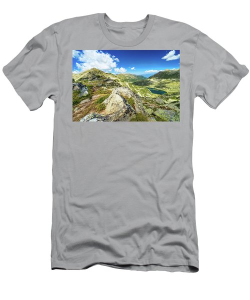 Beautiful Landscape Of Pirin Mountain Men's T-Shirt (Athletic Fit)