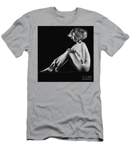 Beautiful Nude Woman Fineart Style Men's T-Shirt (Athletic Fit)