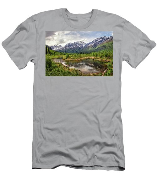 Beaver Pond, Eagle River Ak Men's T-Shirt (Athletic Fit)