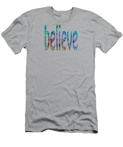 Believe 1001 Men's T-Shirt (Athletic Fit)