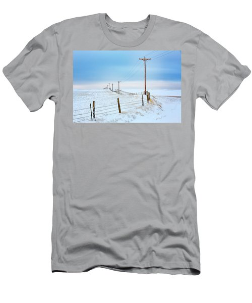 Bend In The Road Men's T-Shirt (Athletic Fit)