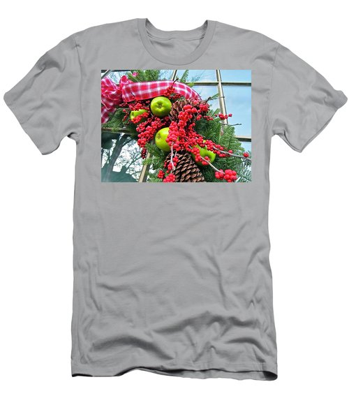 Men's T-Shirt (Athletic Fit) featuring the photograph Berry Christmas by Don Moore