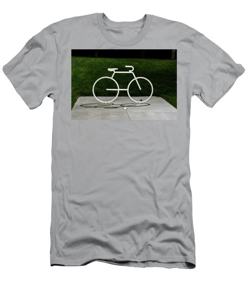 Men's T-Shirt (Athletic Fit) featuring the photograph Bicycle by Randy Scherkenbach