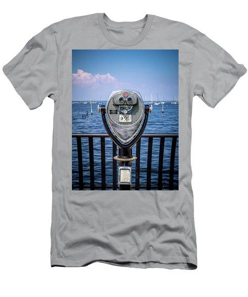Binocular Viewer Men's T-Shirt (Athletic Fit)