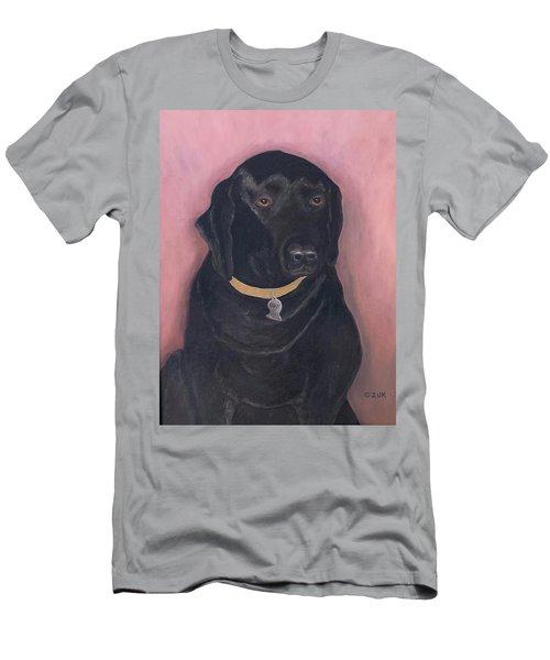 Black Lab Men's T-Shirt (Athletic Fit)