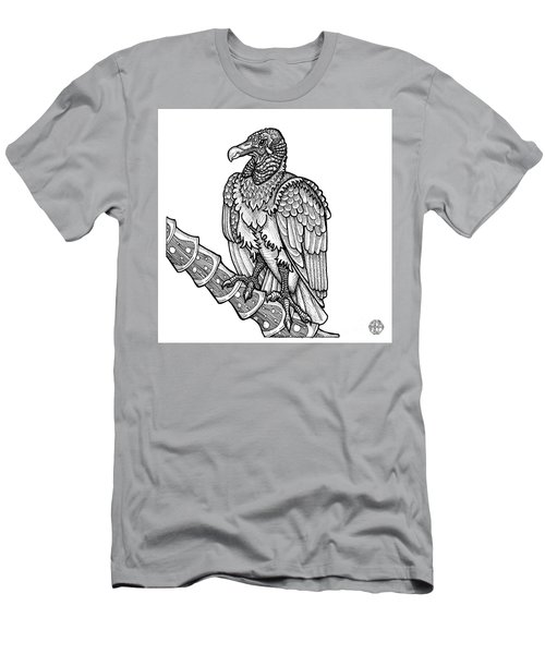 Black Vulture Men's T-Shirt (Athletic Fit)