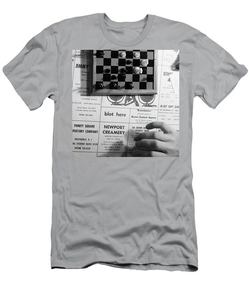 Blot Here, Aka Black's Move, 1972 Men's T-Shirt (Athletic Fit)