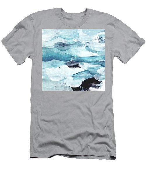 Blue #13 Men's T-Shirt (Athletic Fit)