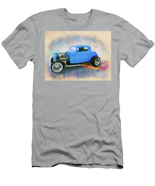 Blue 32 Ford Coupe Men's T-Shirt (Athletic Fit)