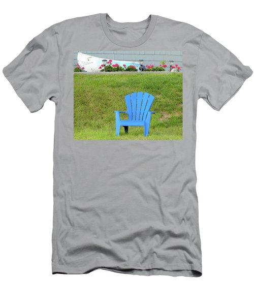 Blue Chair Men's T-Shirt (Athletic Fit)