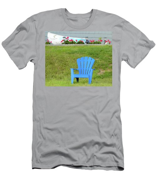 Blue Chair Men's T-Shirt (Athletic Fit)