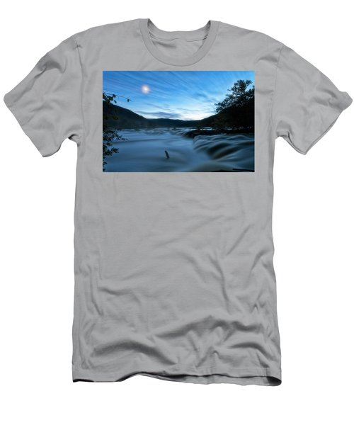 Men's T-Shirt (Athletic Fit) featuring the photograph Blue Hour by Russell Pugh
