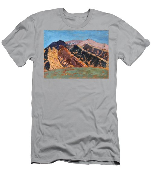 Blue Sky Canigou Men's T-Shirt (Athletic Fit)