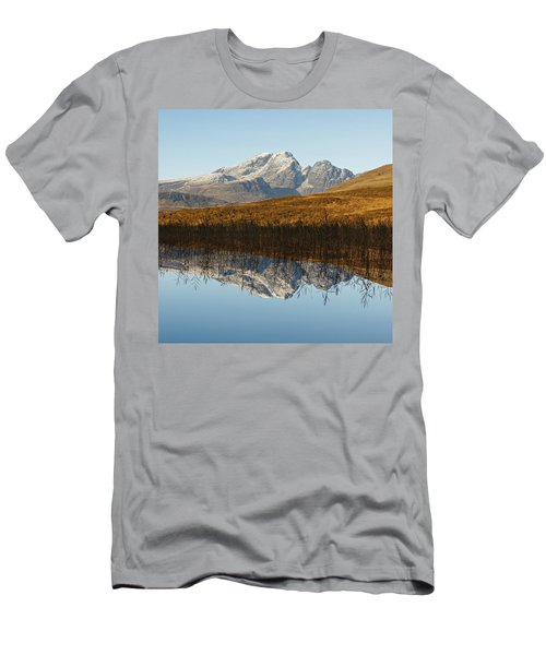 Men's T-Shirt (Athletic Fit) featuring the photograph Blue Skye by Stephen Taylor