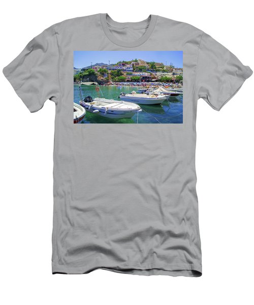 Boats In Bali Men's T-Shirt (Athletic Fit)