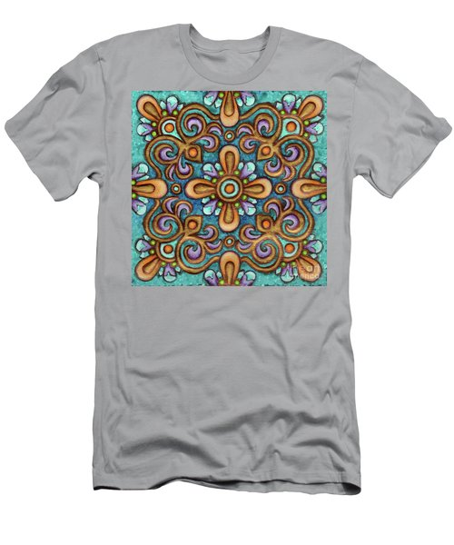 Botanical Mandala 7 Men's T-Shirt (Athletic Fit)