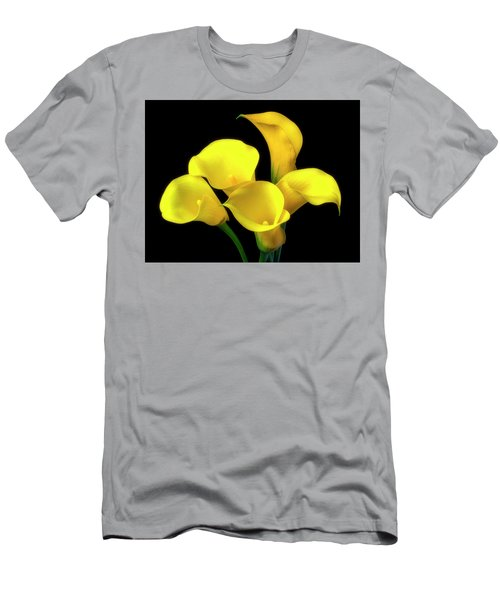 Bouquet Of Yellow Calla Lilies Men's T-Shirt (Athletic Fit)