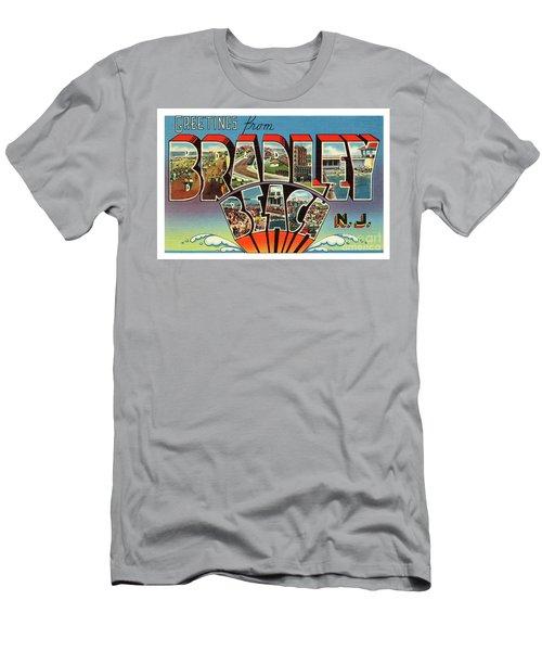 Bradley Beach Greetings Men's T-Shirt (Athletic Fit)