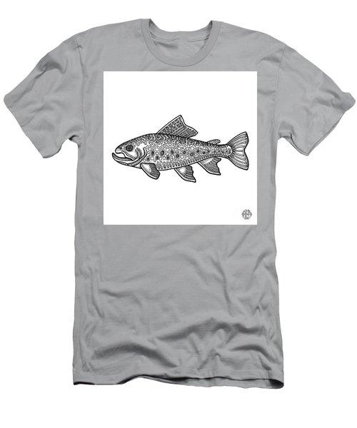 Brook Trout Men's T-Shirt (Athletic Fit)
