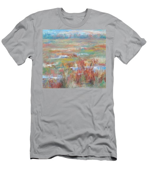 Brush Creek In Abstract Men's T-Shirt (Athletic Fit)