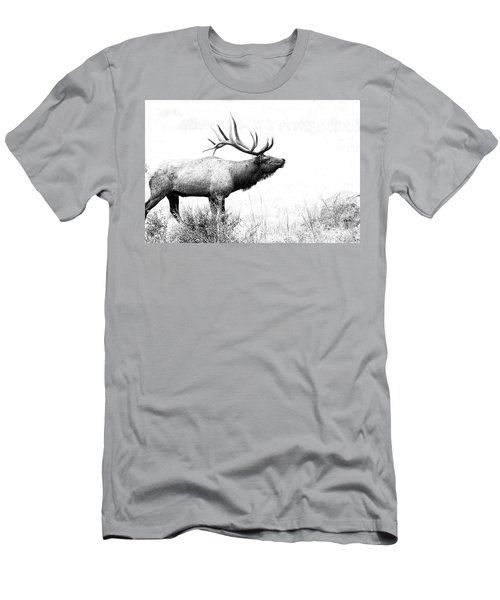 Bull Elk In Rut Men's T-Shirt (Athletic Fit)