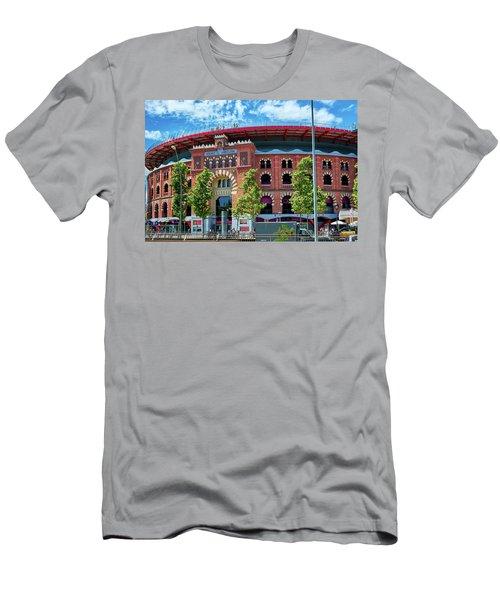 Bullring In Barcelona Men's T-Shirt (Athletic Fit)