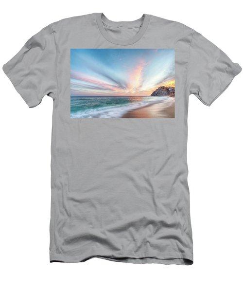 Cabo San Lucas Beach Sunset Mexico Men's T-Shirt (Athletic Fit)
