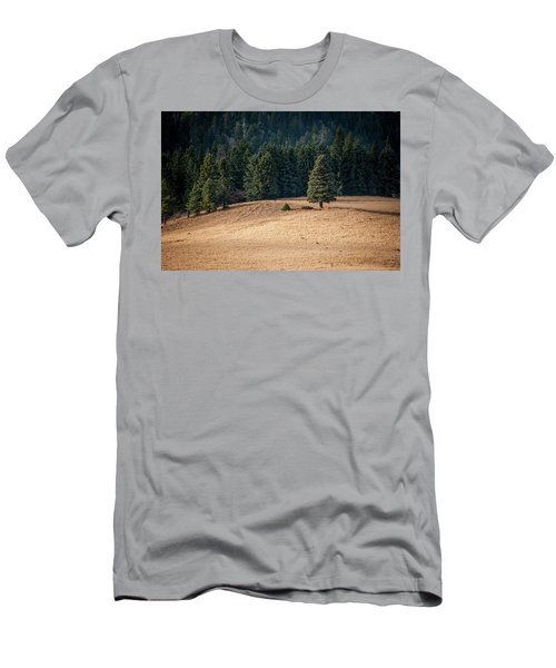 Men's T-Shirt (Athletic Fit) featuring the photograph Caldera Edge by Jeff Phillippi