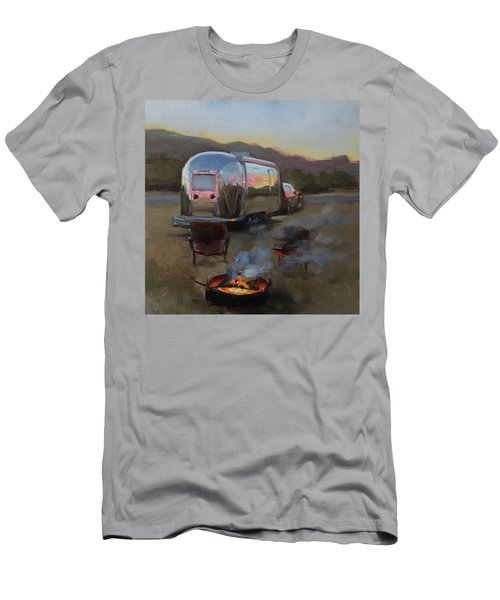 Campfire At Palo Duro Men's T-Shirt (Athletic Fit)