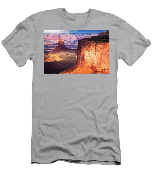 Men's T-Shirt (Athletic Fit) featuring the photograph Candlestick Tower by Scott Kemper