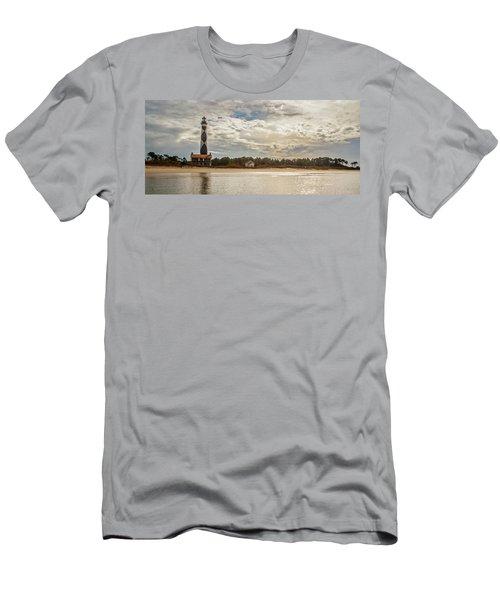 Cape Lookout Lighthouse No. 3 Men's T-Shirt (Athletic Fit)