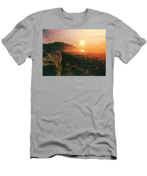 Cape Meares Beach Men's T-Shirt (Athletic Fit)