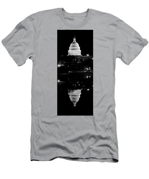 Capitol Upside Down Men's T-Shirt (Athletic Fit)