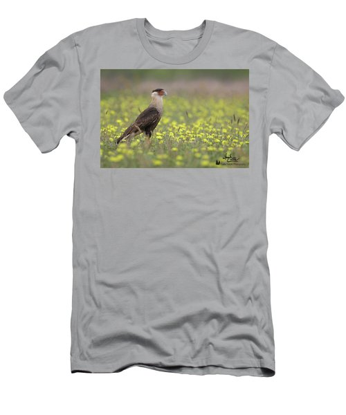 Caracara In Spring Men's T-Shirt (Athletic Fit)