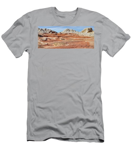 Carved In Stone Pano 2 Men's T-Shirt (Athletic Fit)
