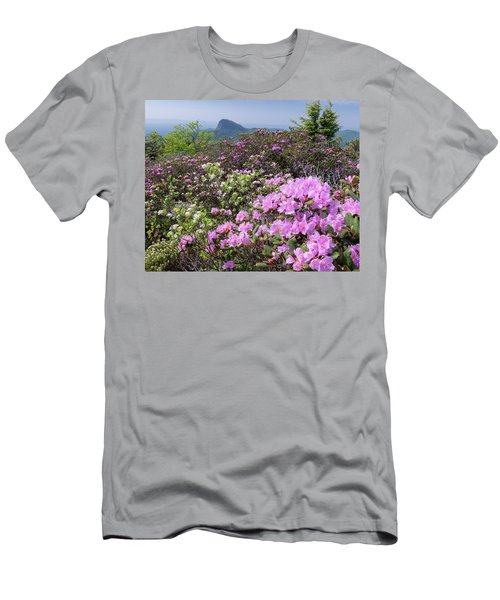 Catawba Rhododendron Table Rock  Men's T-Shirt (Athletic Fit)