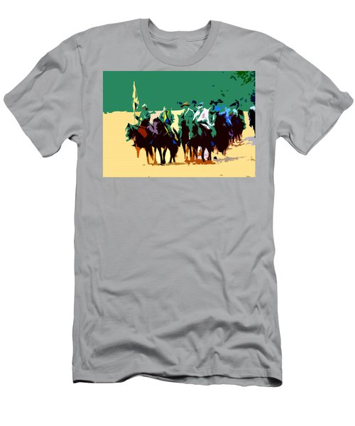 Cavalry On The Move Men's T-Shirt (Athletic Fit)