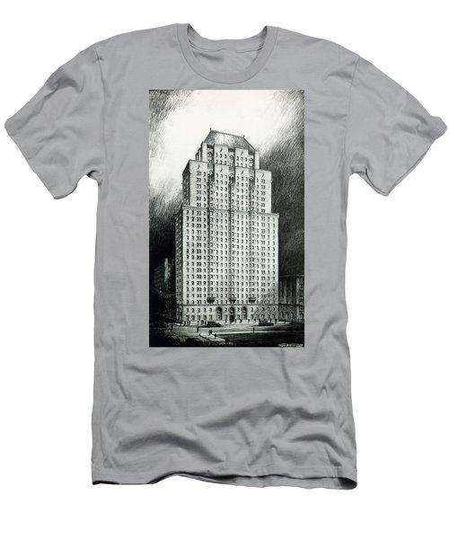 Chateau Crillon Men's T-Shirt (Athletic Fit)