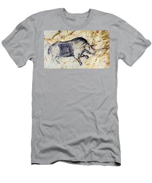 Chauvet Rhinoceros Men's T-Shirt (Athletic Fit)