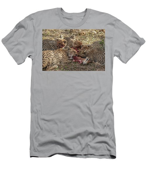 Cheetahs And Grant's Gazelle Men's T-Shirt (Athletic Fit)