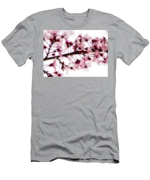 Cherry Triptych Center Panel Men's T-Shirt (Athletic Fit)