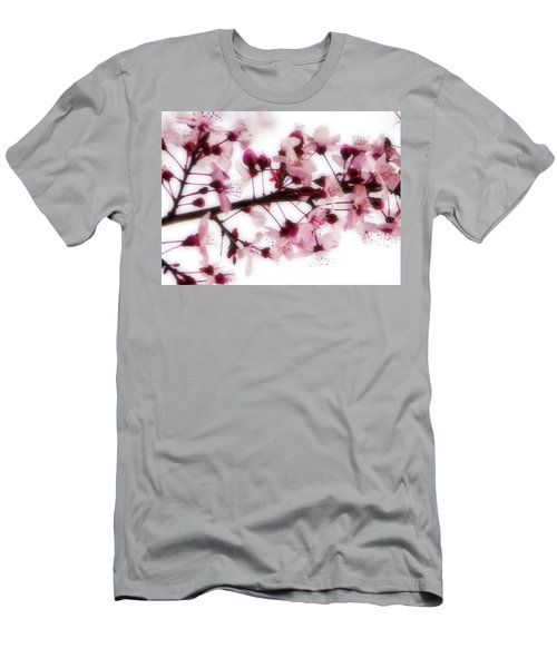 Men's T-Shirt (Athletic Fit) featuring the photograph Cherry Triptych Center Panel by Mark Shoolery