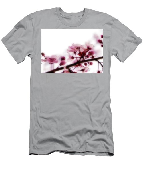 Men's T-Shirt (Athletic Fit) featuring the photograph Cherry Triptych Left Panel by Mark Shoolery