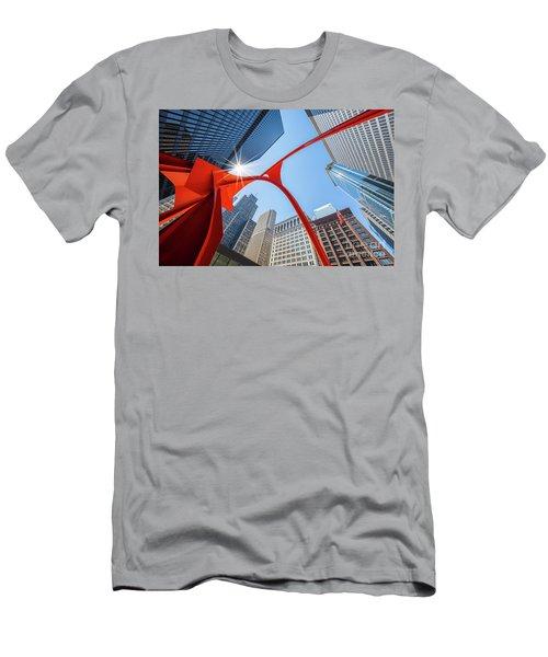 Chicago Upwards Men's T-Shirt (Athletic Fit)