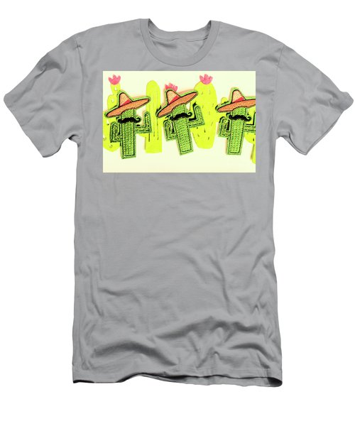 Chili Con Cacti Men's T-Shirt (Athletic Fit)