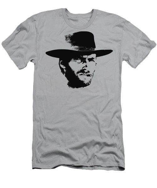 Clint Eastwood Minimalistic Pop Art Men's T-Shirt (Athletic Fit)