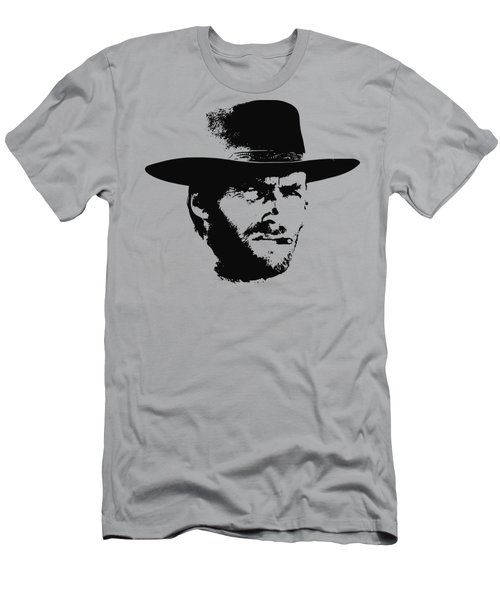 Clint Eastwood Minimalistic Pop Art Men's T-Shirt (Athletic Fit)