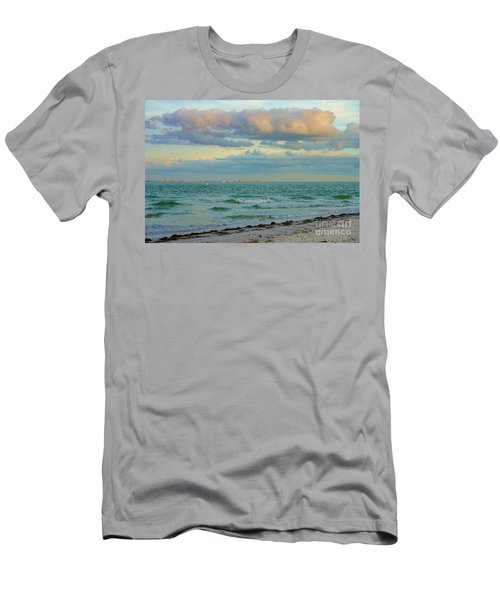 Clouds Over Sanibel Beach Men's T-Shirt (Athletic Fit)