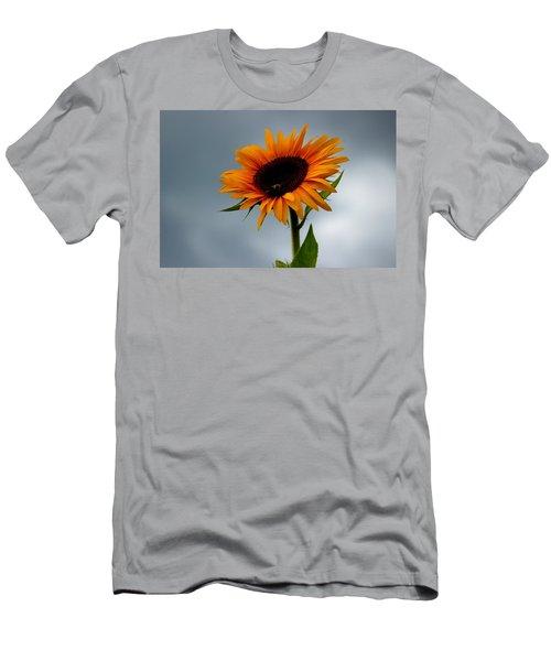 Cloudy Sunflower Men's T-Shirt (Athletic Fit)