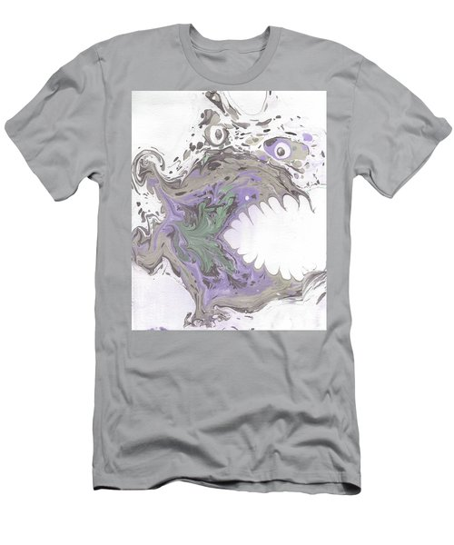 Clyde In The Morning  Men's T-Shirt (Athletic Fit)